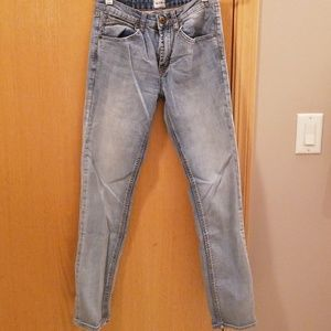 Boys Hudson light wash skinny jeans ... 16